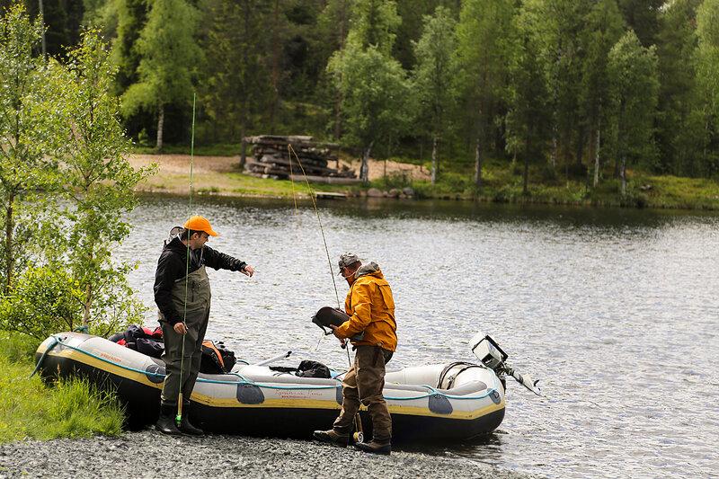курорты в финляндии рыбалка