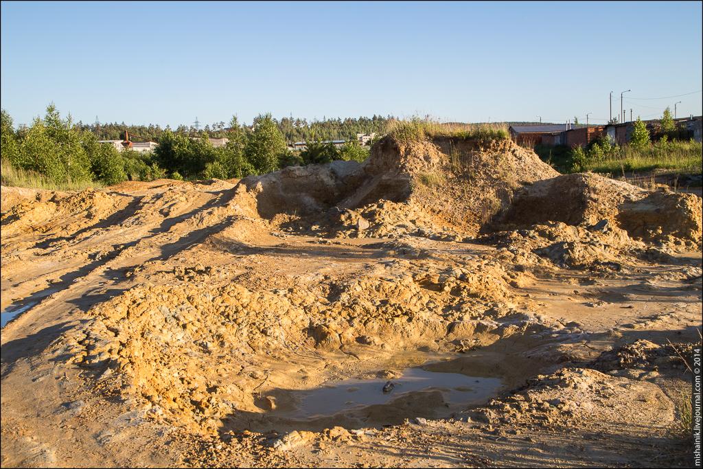Мелентьевское полиметаллическое месторождение золота (Миасс)