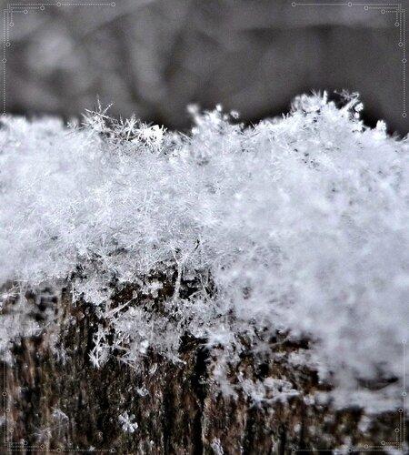 Снежинки....