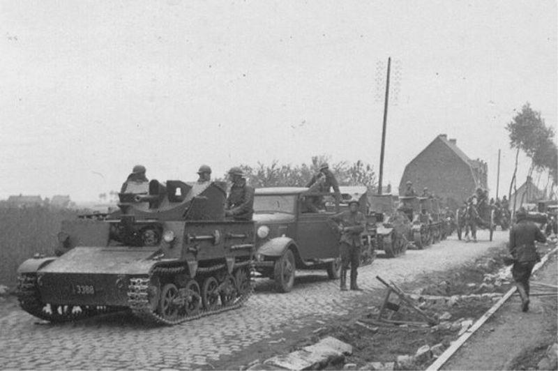 Бельгийская САУ Char leger T13B3 и танки Char leger T15.
