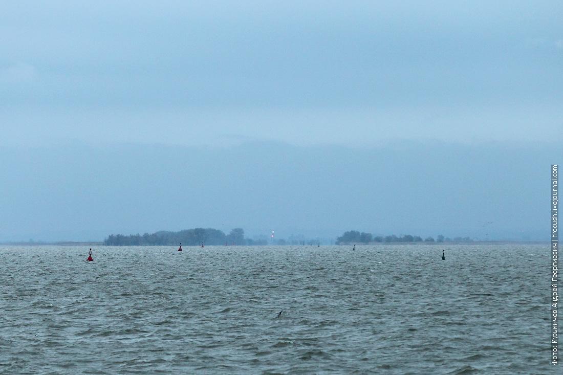 устье Дона со стороны Азовского моря