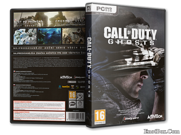 Call of Duty: Ghosts + 4 DLC (v1.0) [2013] [RePack , RUS , Action (Shooter) / 3D / 1st Person] от =Чувак