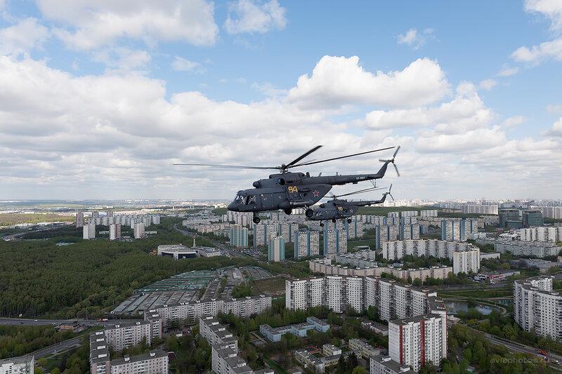 Миль Ми-8МТВ-5 (RF-91184 / 84 желтый) D708550
