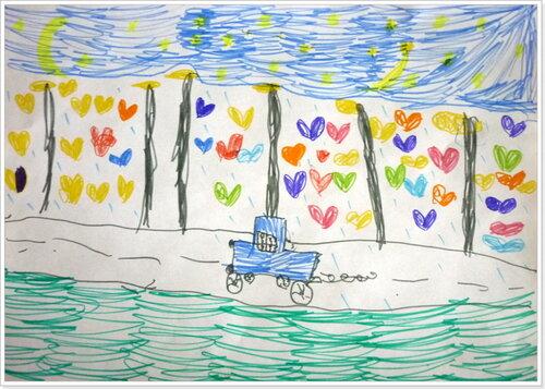 Конкурс рисунков. Выставка работ. Автор: Тамара Гибадуллина, 5 лет