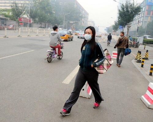 В Пекине объявили «красный» уровень экологической опасности