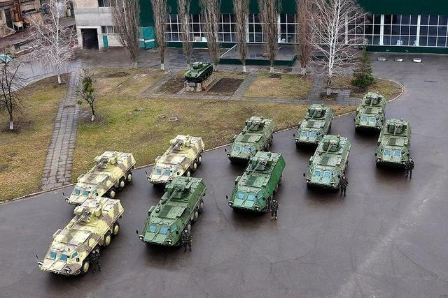 Новые БТР для Национальной гвардии.