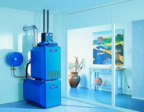 Как организовать отопление дома газовым котлом