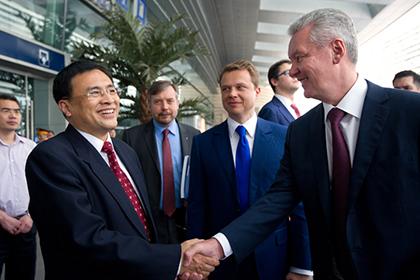 Китайцы помогут построить московское метро