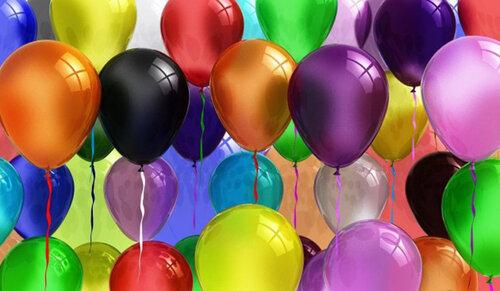 Гелиевые шары отличная идея подарка