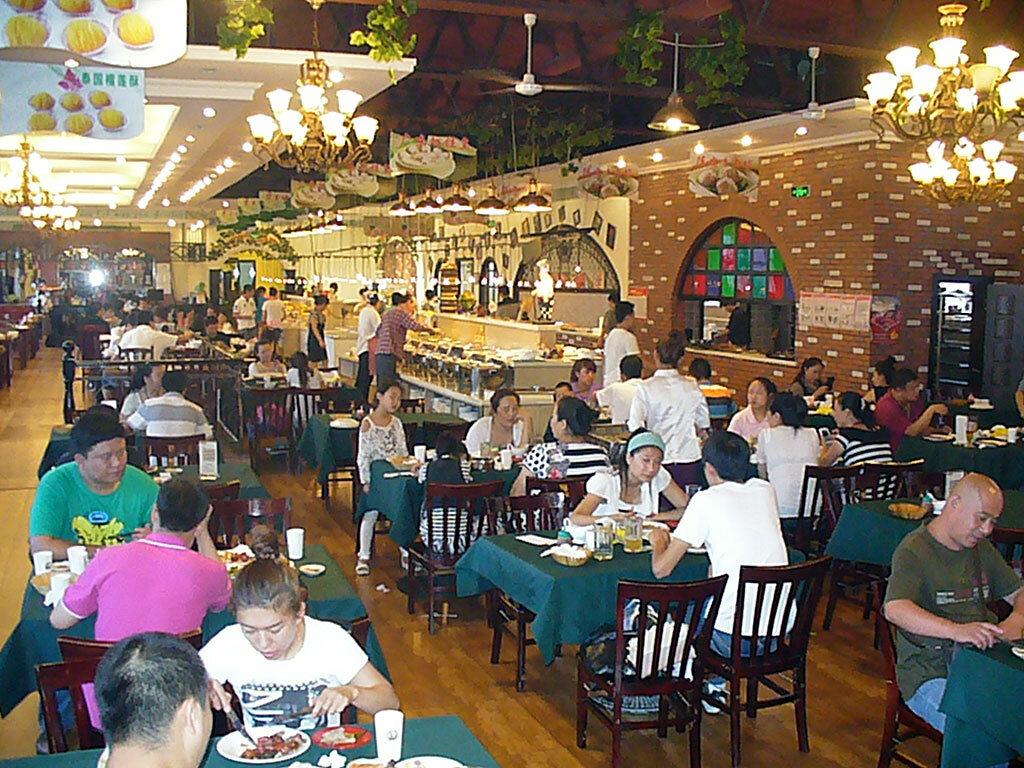 Ресторан в Дзиси