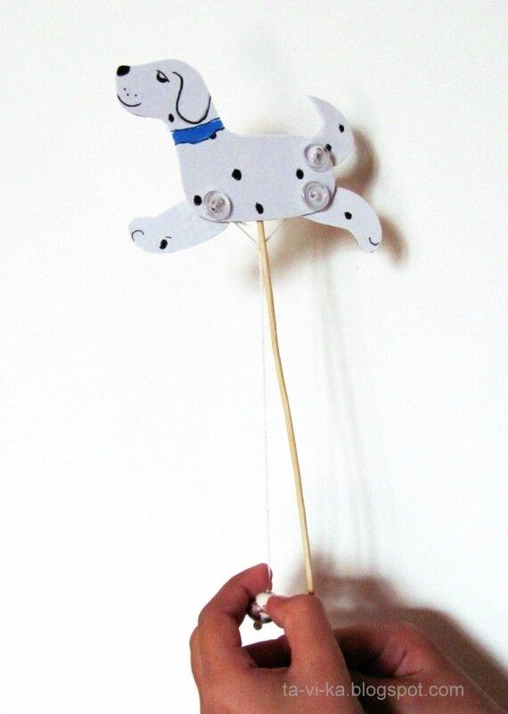 дергунчик собака своими руками