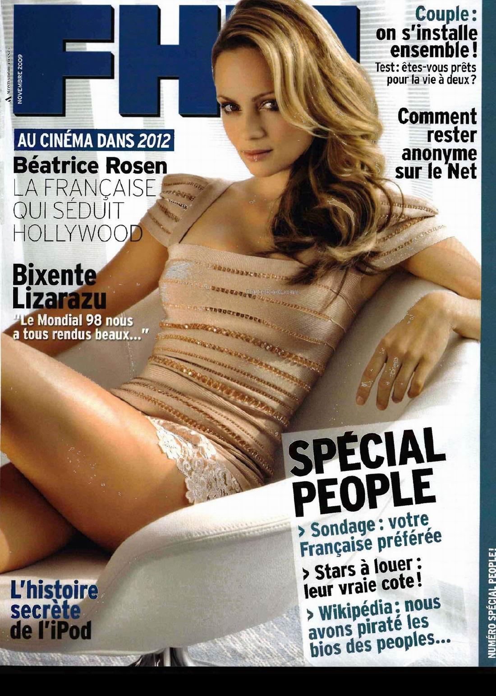 Беатрис Розен (Beatrice Rosen) в журнале FHM Франция, ноябрь 2009