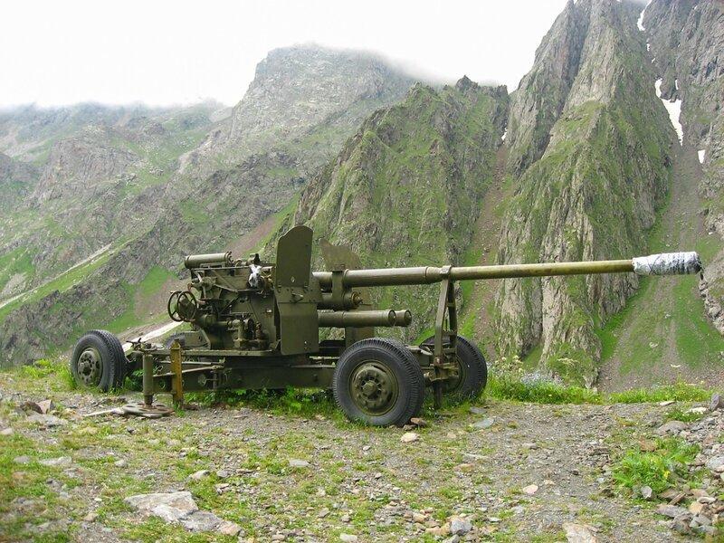 Северная Осетия, Цей, Сказское ущелье