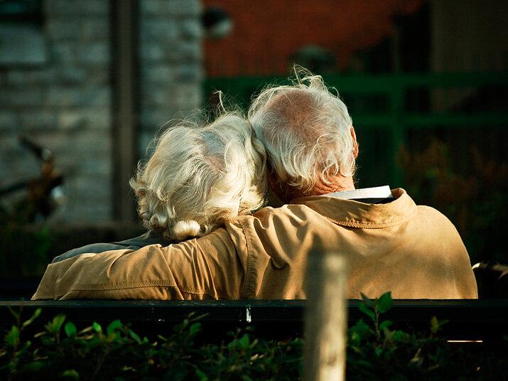 """Foto """"El verdadero amor nunca envejece!"""""""