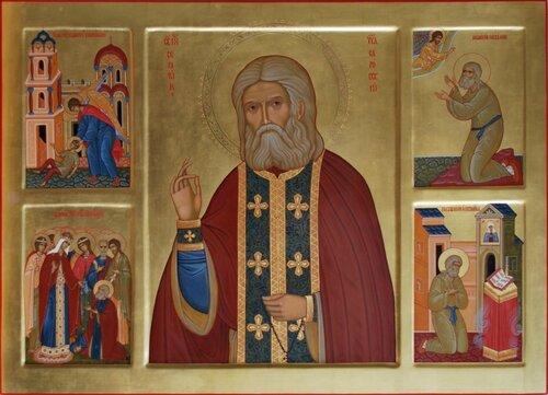 Икона для Алексеево-Акатова монастыря, г. Воронеж.