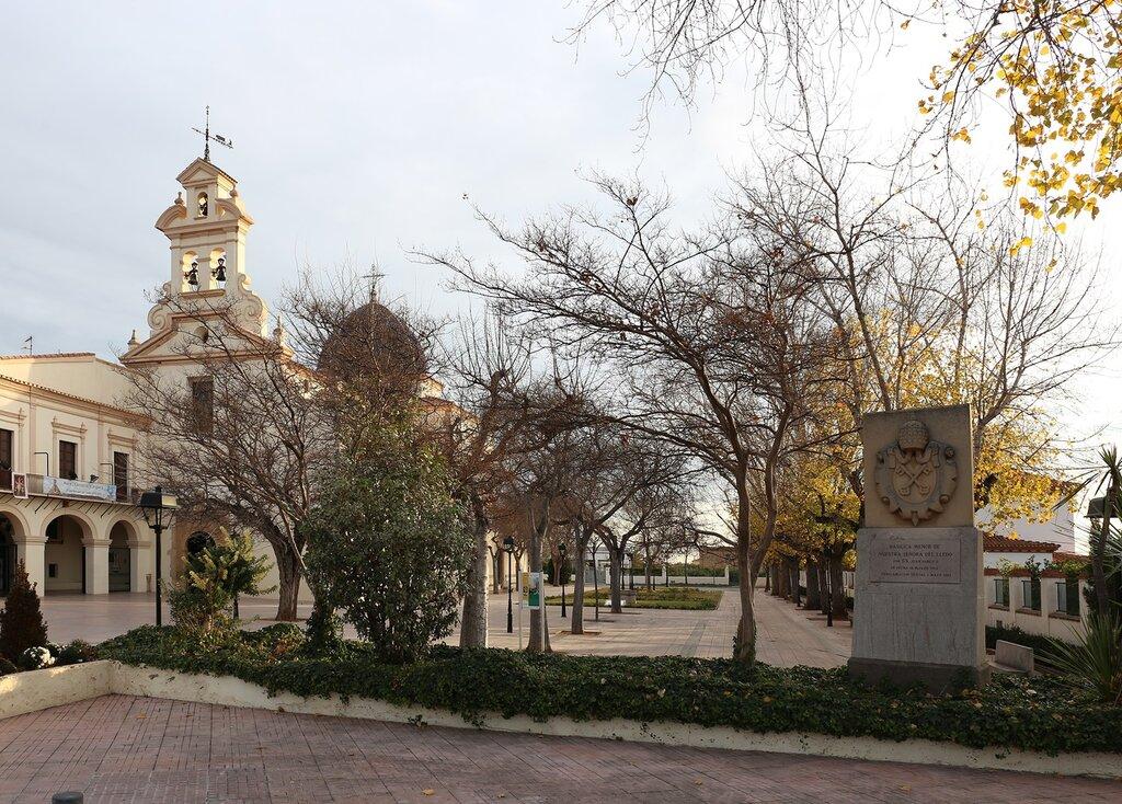 Basílica de la Mare de Déu del Lledó, Castellón de La Plana, the Basilica of the virgin of Lledo