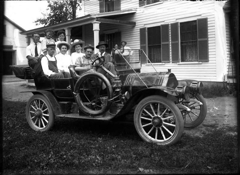 1910 – 1911 Whiting Model A Roadster