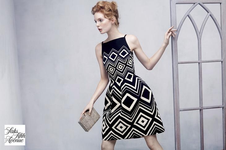 Клара Сеттдже в новой рекламной кампании Saks Fifth Avenue
