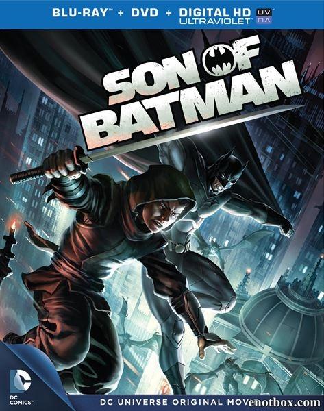 Сын Бэтмена / Son of Batman (2014/BDRip/HDRip)