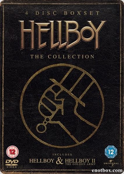 Хеллбой: Дилогия / Hellboy: Dilogy / 2004-2008 / ДБ, ПМ, АП, СТ / BDRip (1080p)