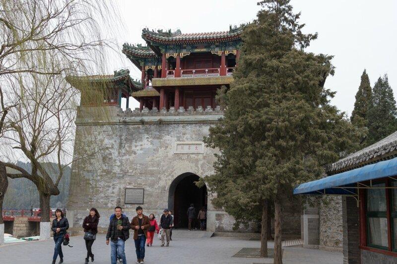 Башня Вэньчан, Летний дворец, парк Ихэюань, Пекин