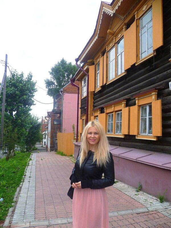 Томск, улица Кузнецова (Tomsk, Kuznetsova Street)