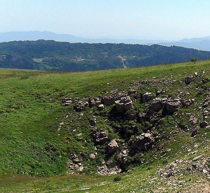На плато Лагонаки, Кавказ