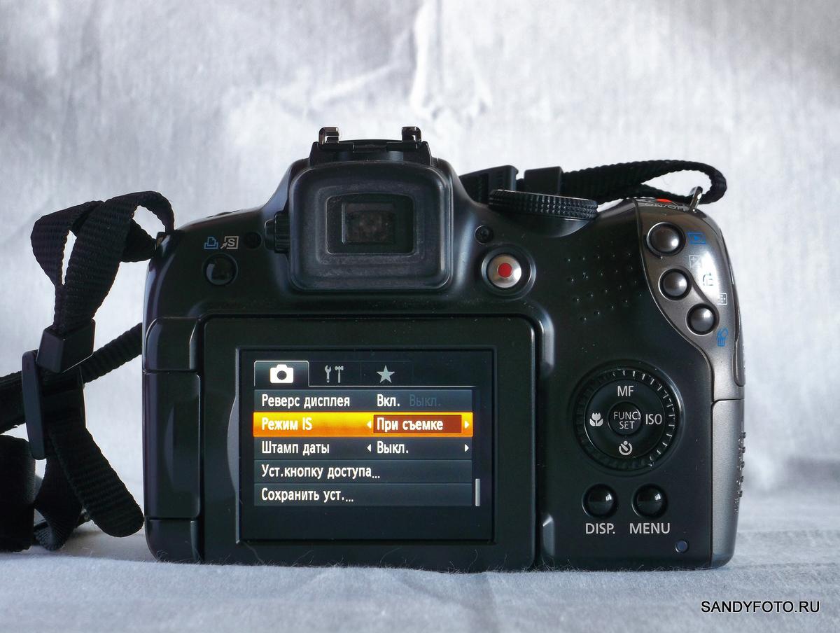 Canon SX20 IS ошибка объектива, решение проблемы
