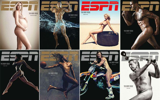 ESPN Magazine Body Issue 2013
