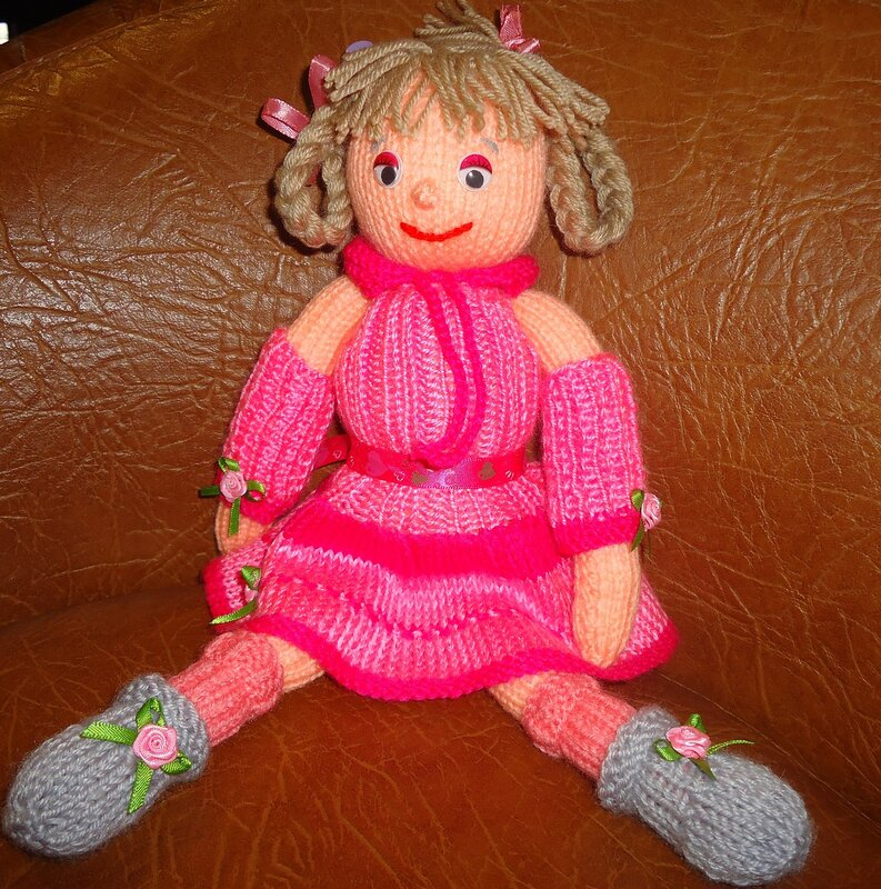 Мягкая игрушка Кукла Алиса