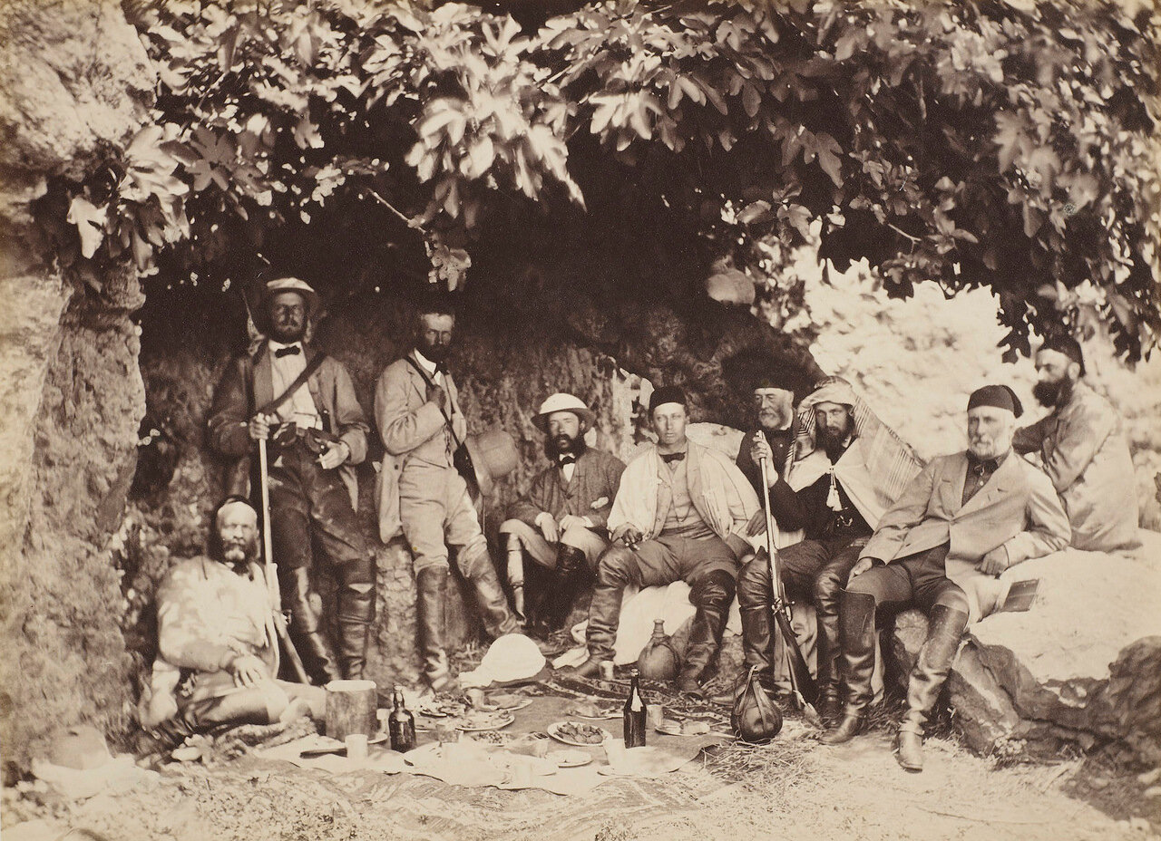 21 апреля 1862. Альберт Эдвард, принц Уэльский и его спутники в Капернауме