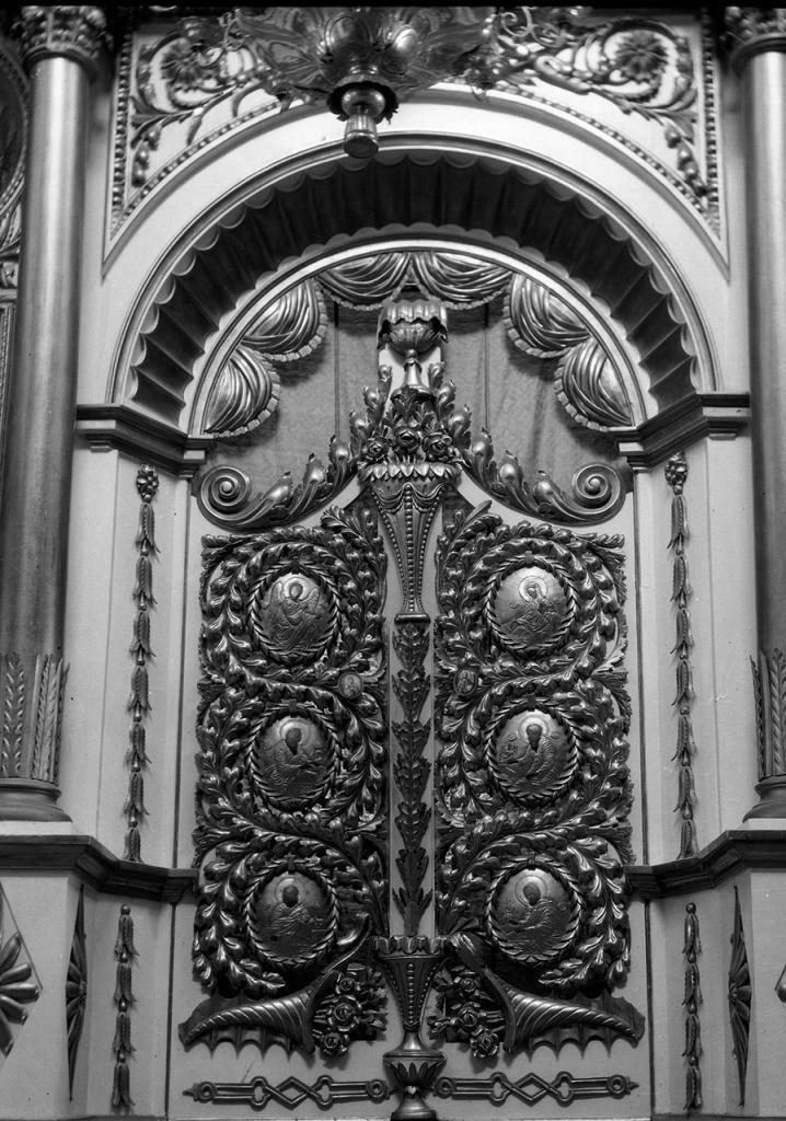Сковородский монастырь. Церковь Михаила Архангела. Царские врата главного придела