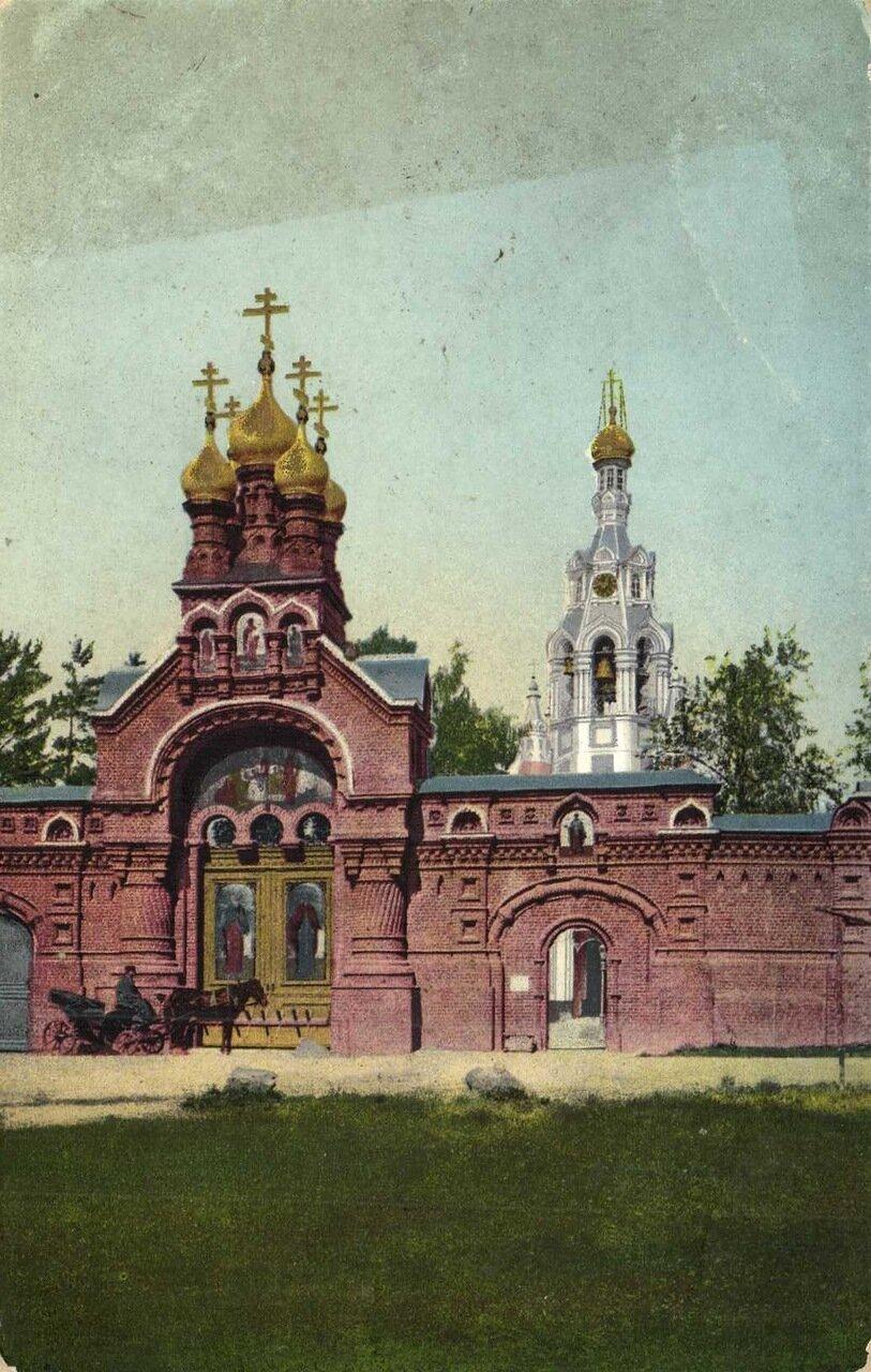 Троице-Сергиевская Лавра. Святые ворота в Гесиманском скиту
