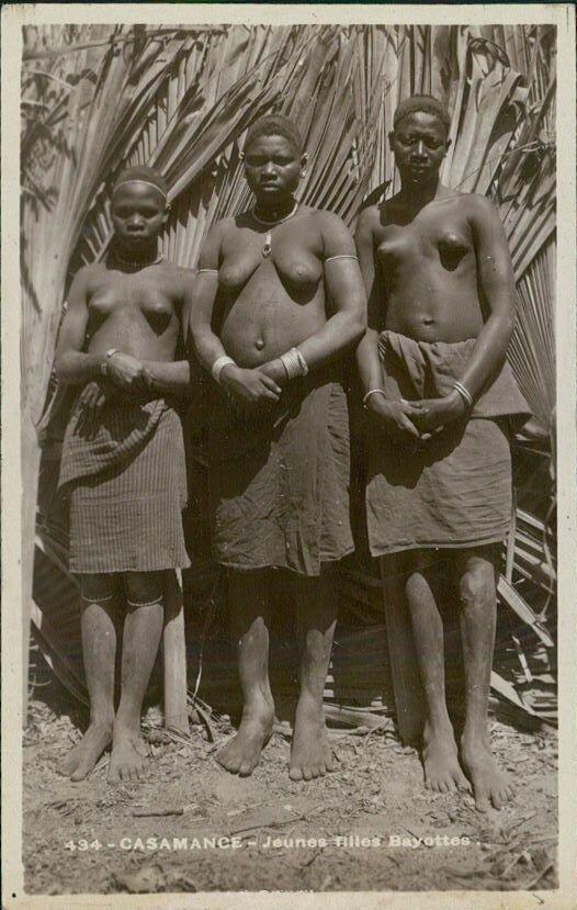 Сенегальские девушки