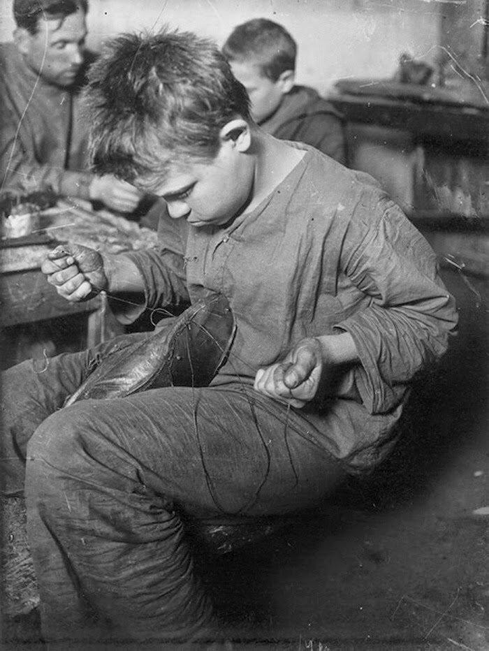 1926. Обучение беспризорников, Москва