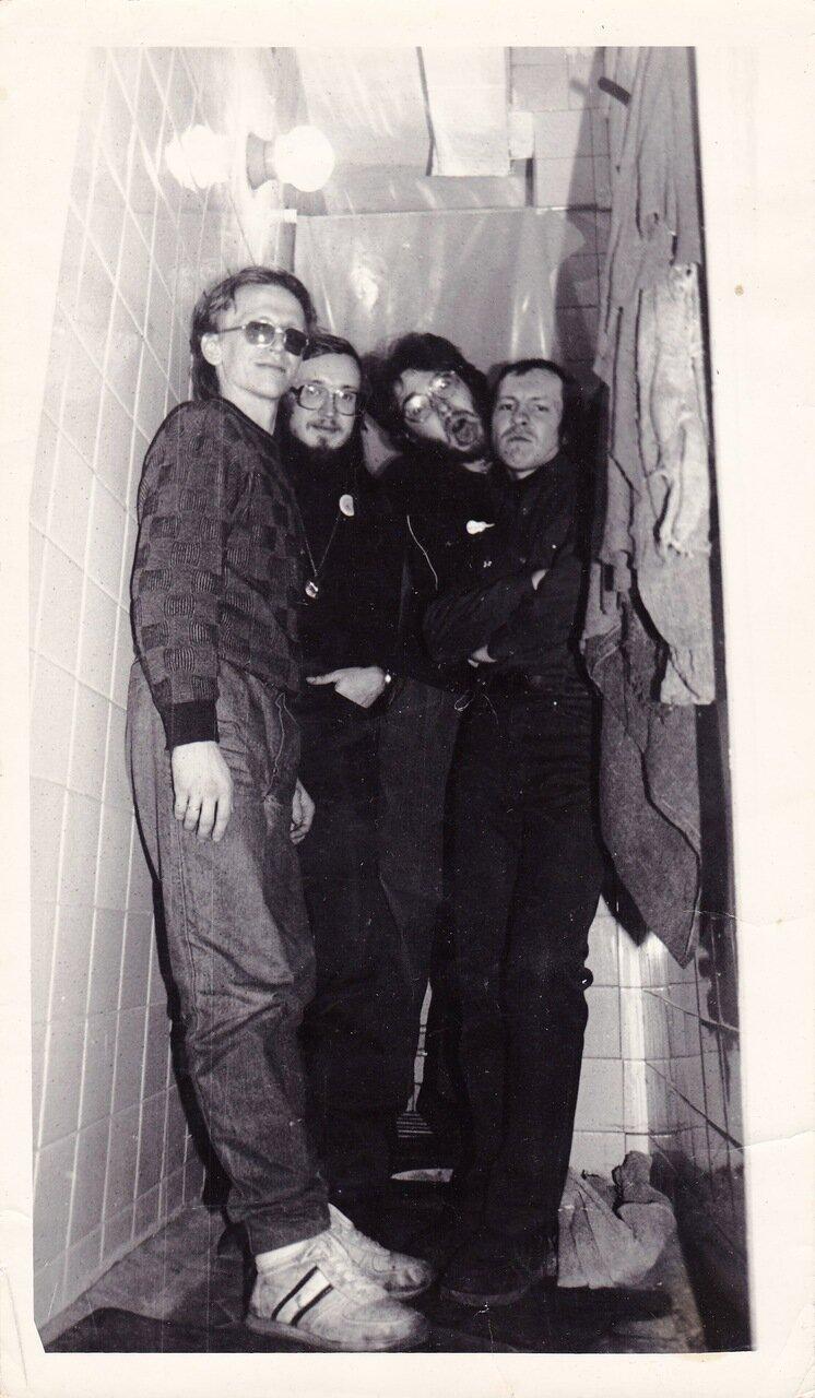 1990. После концерта в Ангарске