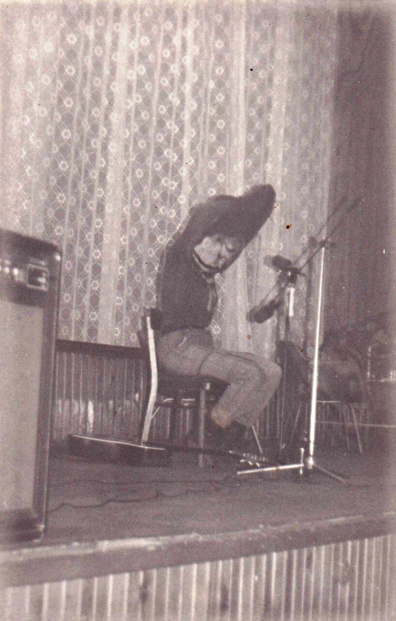 1991. Концерт в Ангарском ДК Строителей