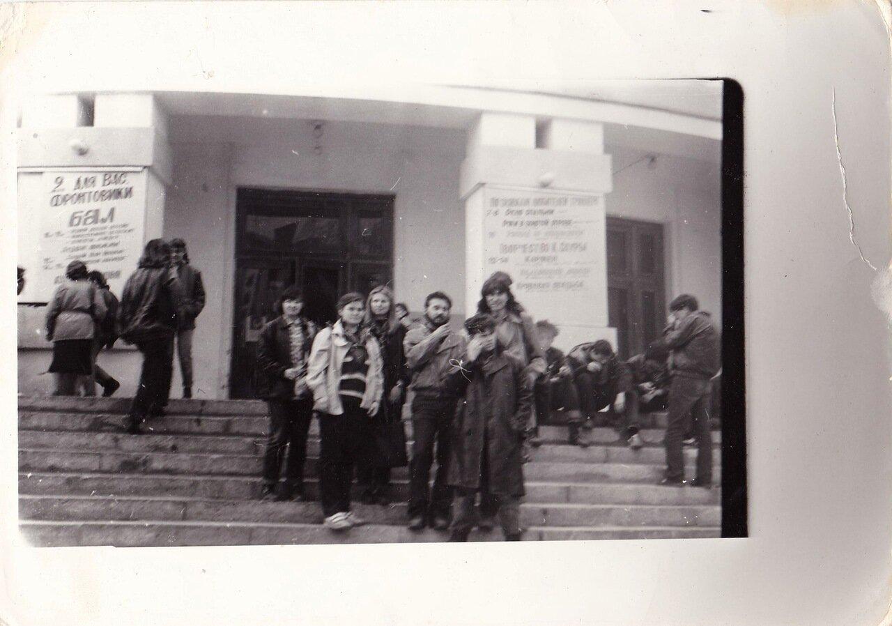 1992. Валера Рожков и «Флирты», Сергей Миляев и группа поддержки