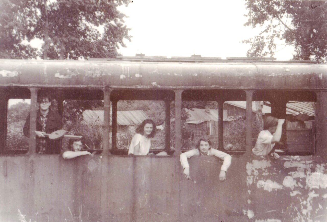 1992. С «Флиртами» в Усолье