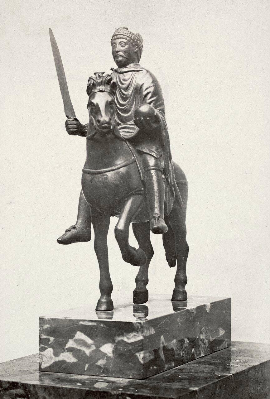1860-е. Карнавале. Статуя Карла Великого