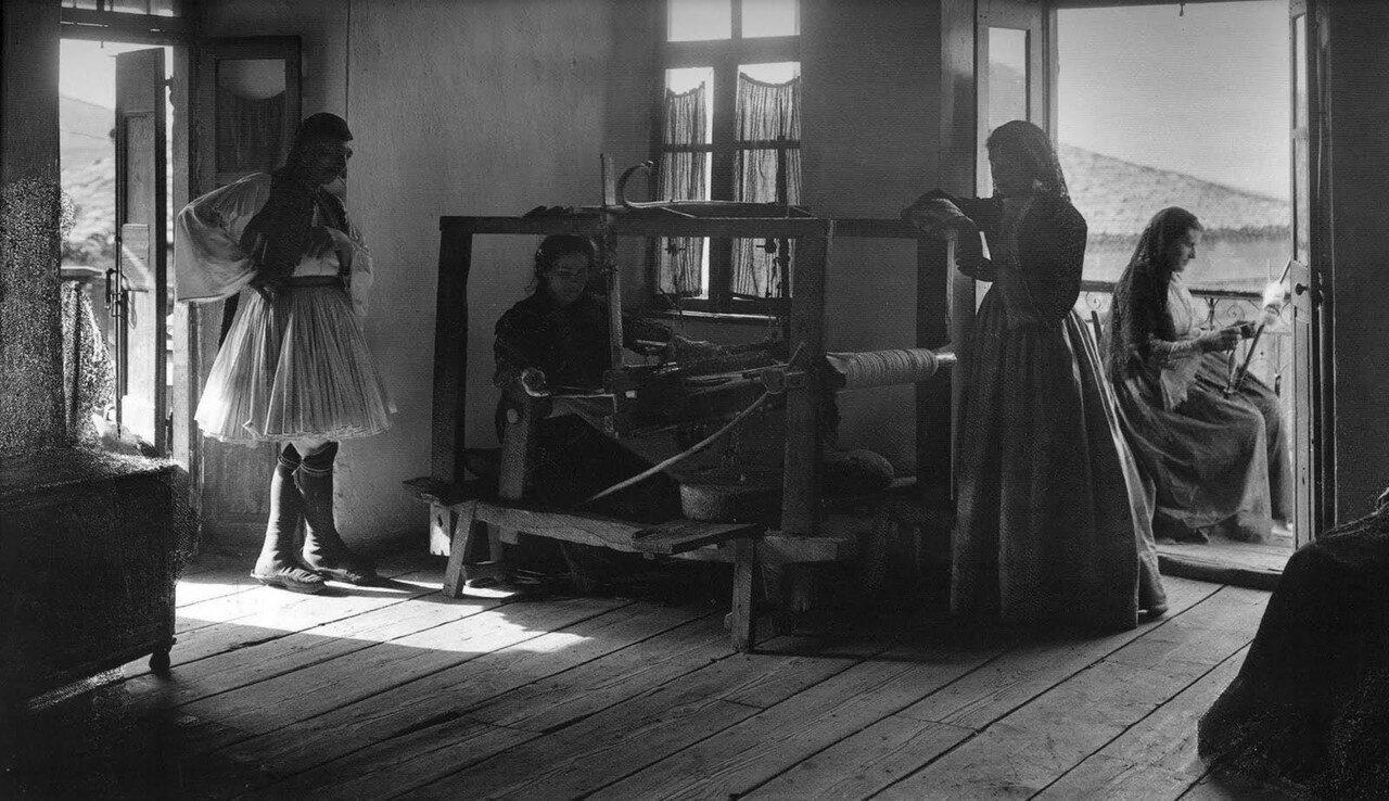 1903. Андрицена. Интерьер дома