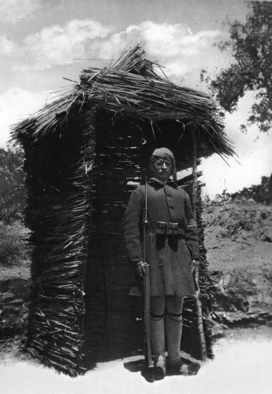 1913. Македония, часовой форпоста