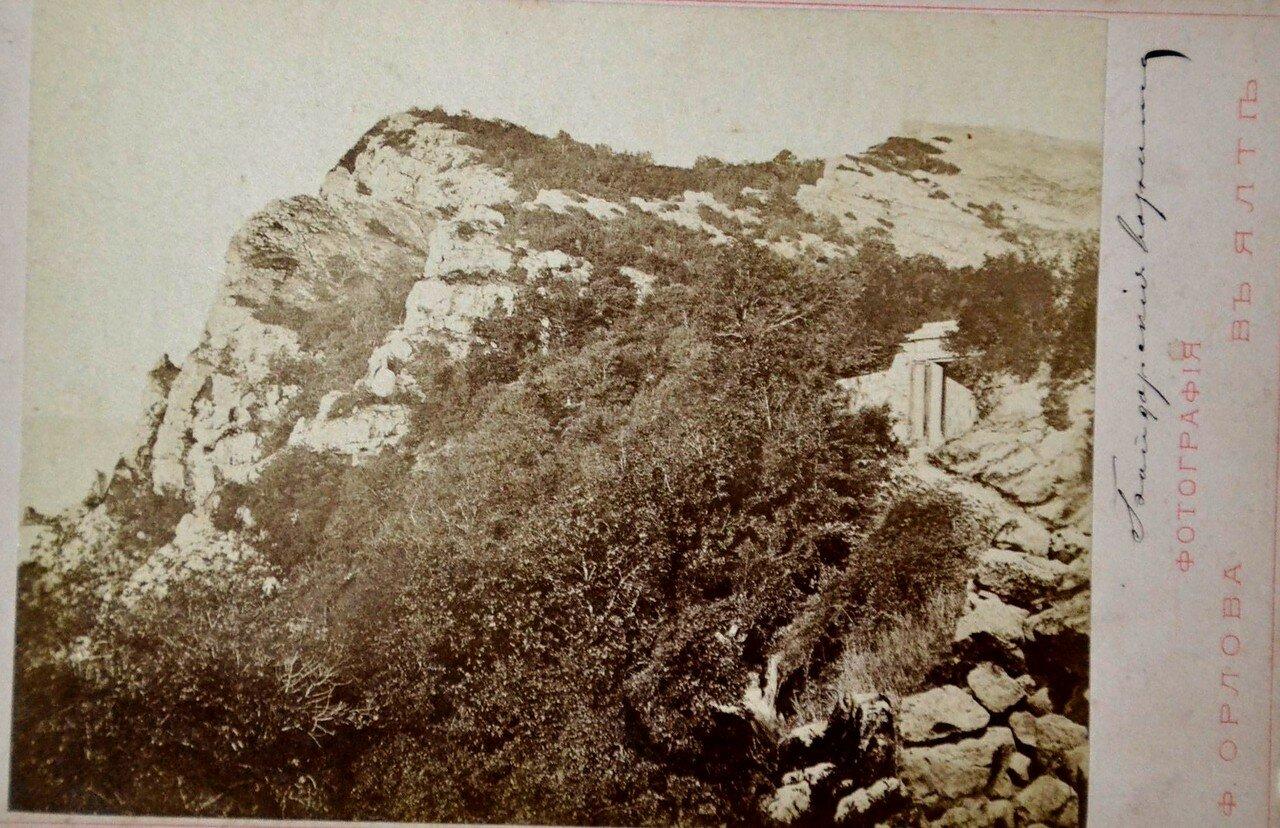 Окрестности Ялты. Байдарские вершины. 1880-е