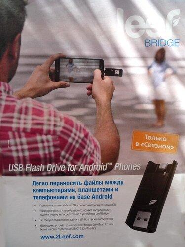 """Leef Bridge (журнал """"Связной"""")"""