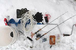 Снаряжение для зимней ловли