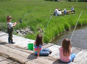 Ловля рыбы в проводку