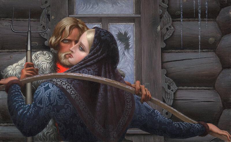 Былинные сказы и эпосы в творчестве  русского живописца Константина Васильева