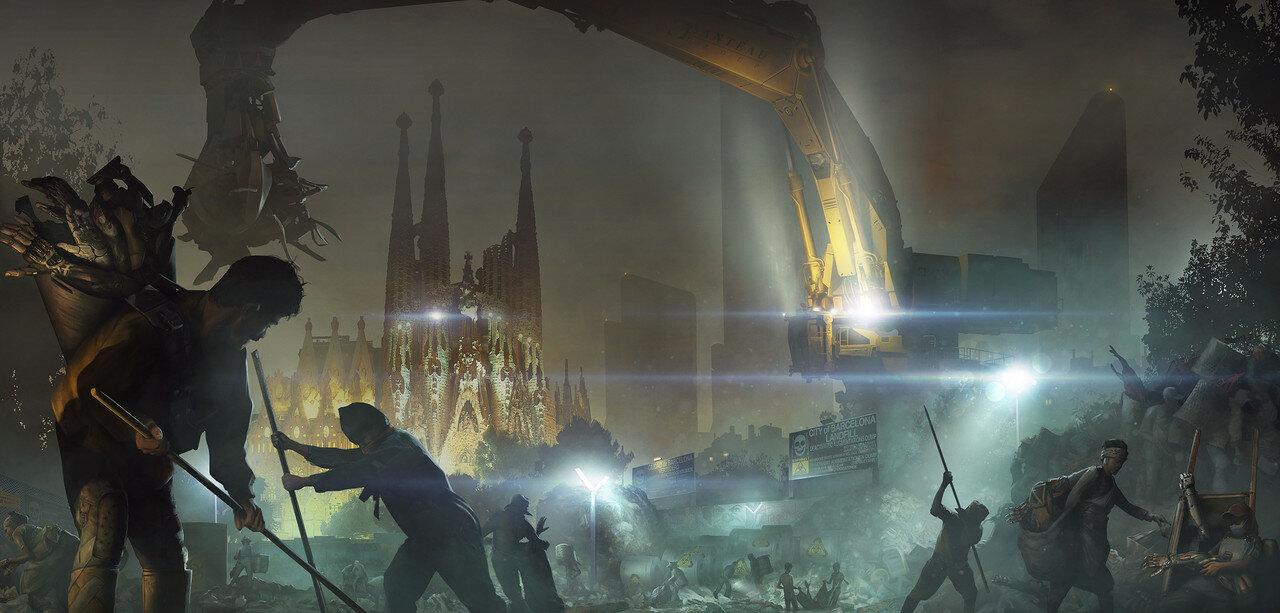 DeusEx: Sagrada Familia, Barcelona 2029