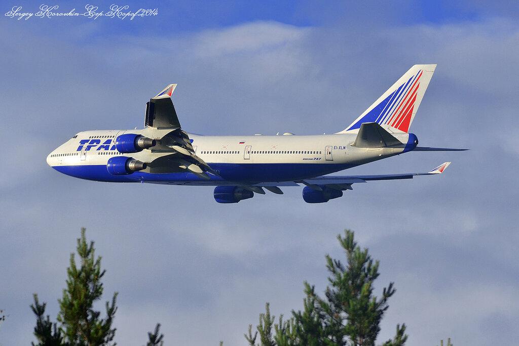 Boeing 747-412 Transaero Airlines