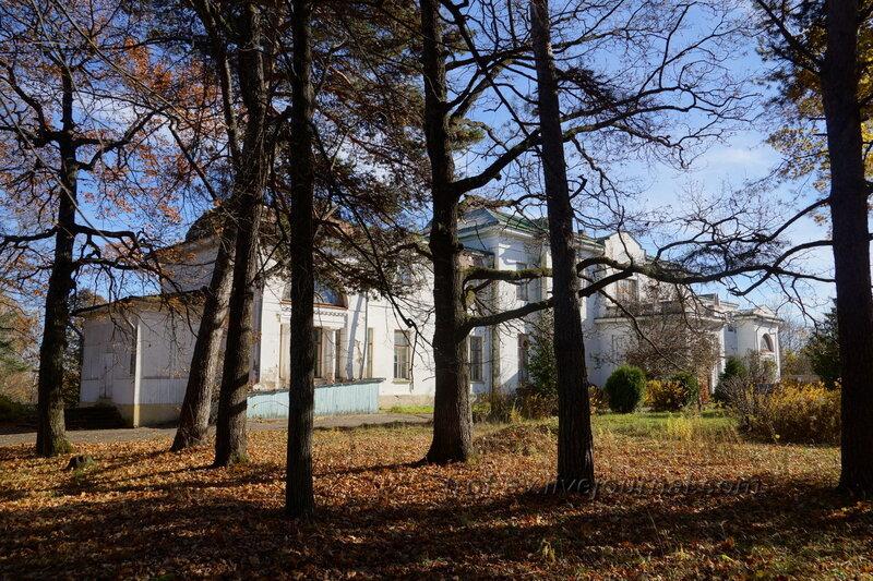 Левое крыло усадебного дома, Усадьба Любвино, Тучково